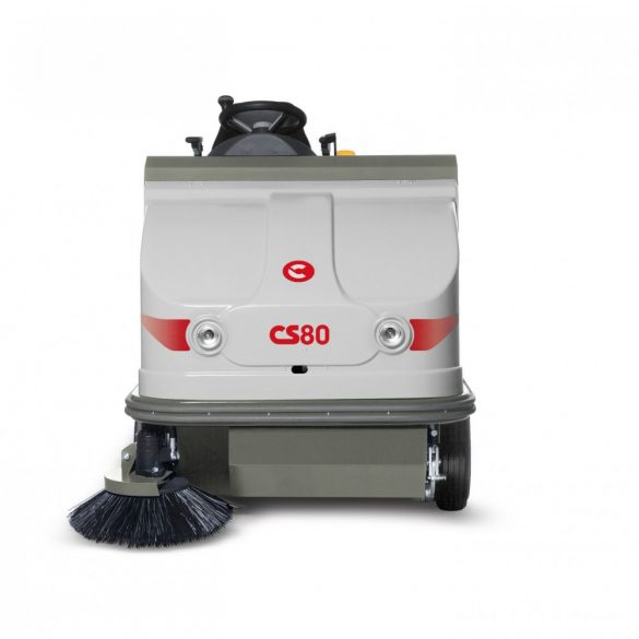 Comac CS80 B vezetőüléses akkumulátoros seprőgép
