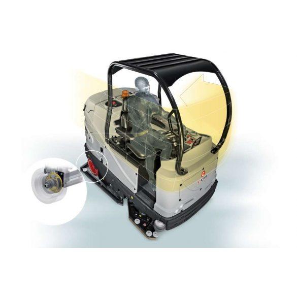 Comac C130 BS seprő-súroló automata padlótisztító