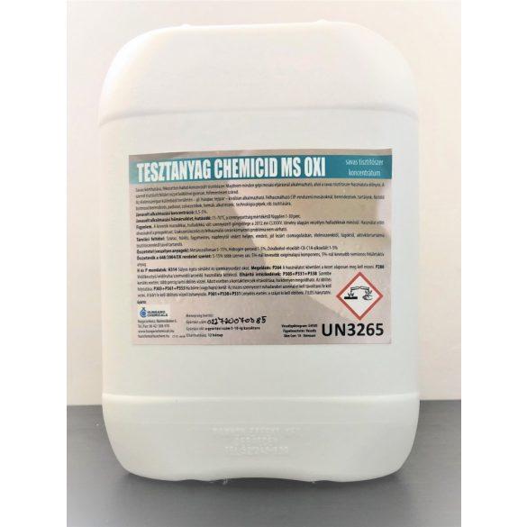 Chemicid MS Oxy  savas gépi tisztítószer (20kg)