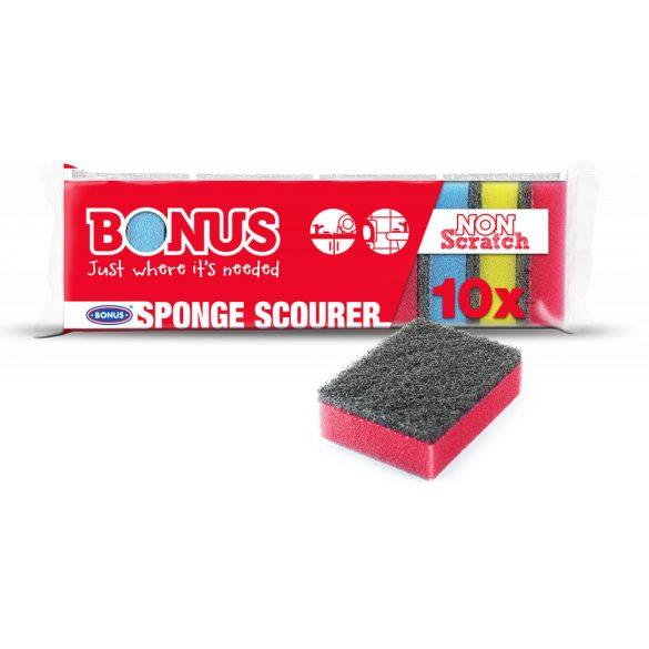 Bonus mosogatószivacs (8*5*3cm) 10db-os