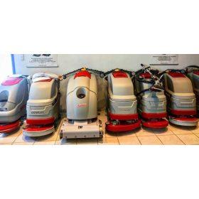 Használt gyalogövetős takarítógép