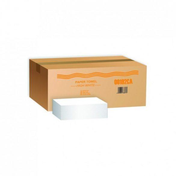 V hajtogatott kéztörlő - 100% tiszta cellulóz - 200lap/csomag