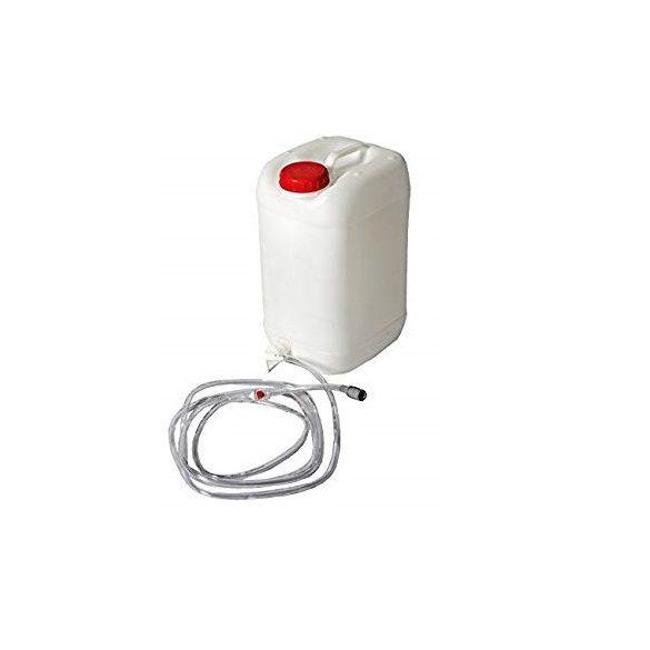 Akkumulátor vízutántöltő kanna
